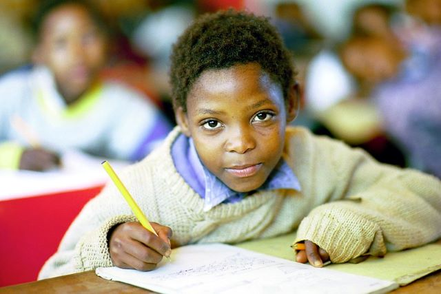 South African poverty and education