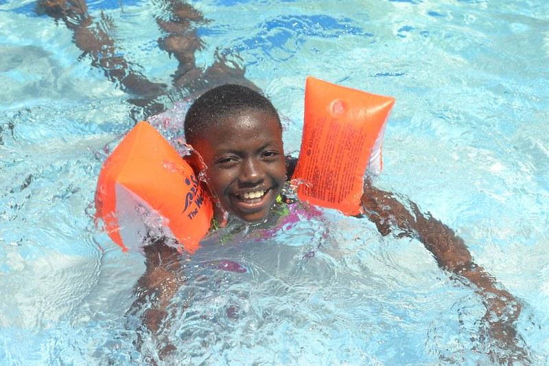 Swim Instruction in Africa