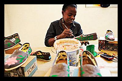TOMS Shoes Haiti production