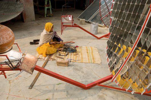 Teaching Impoverished Women Solar Panel Engineering