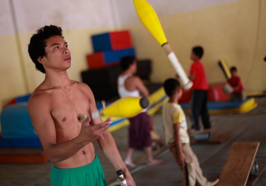 Phare Ponleu Selpak circus schoolBattambang, Cambodia