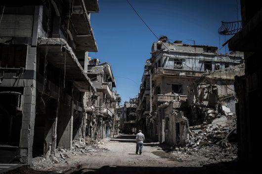 The Heroism of Syria's White Helmets
