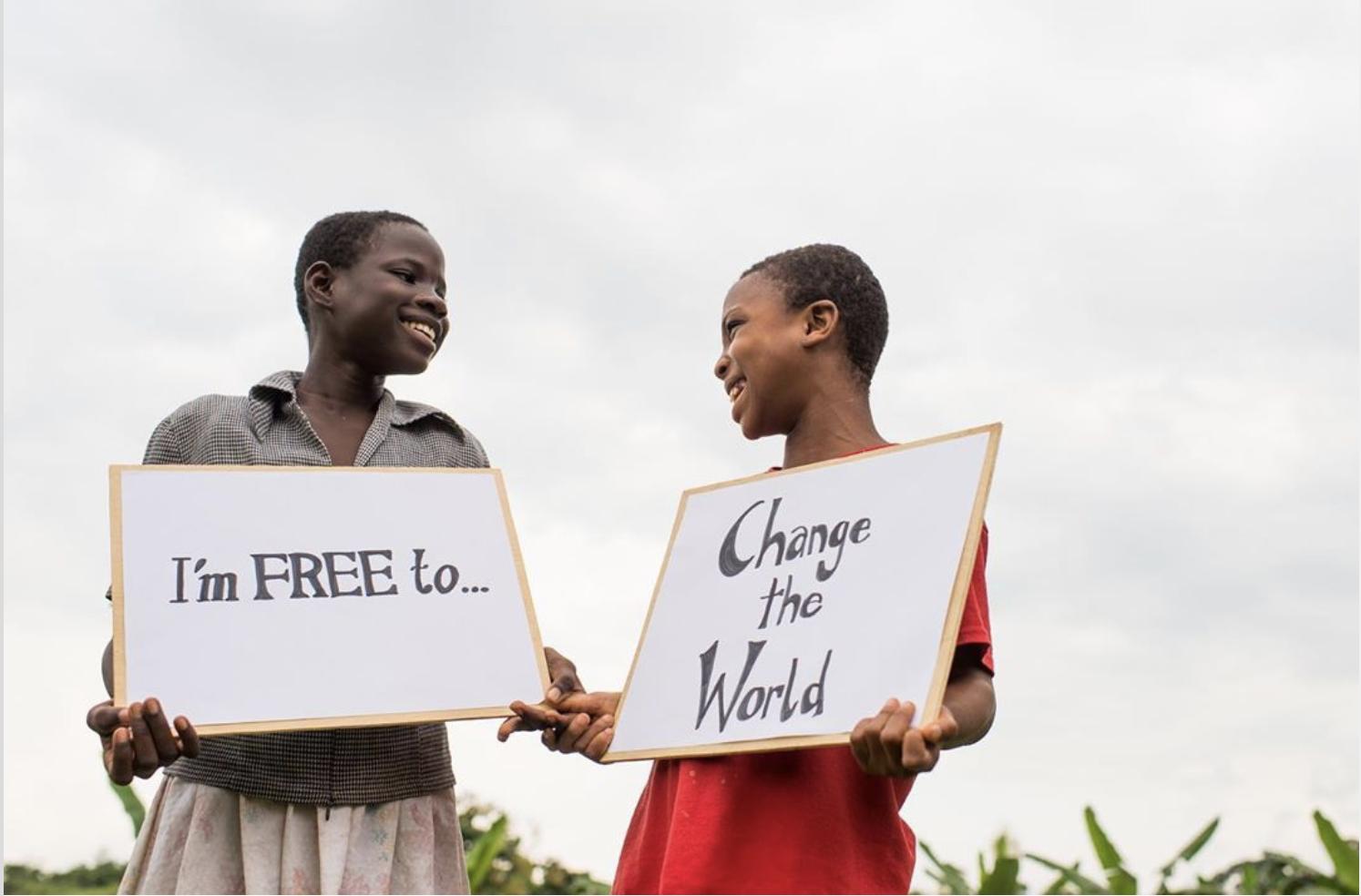 enslaved children in Ghana