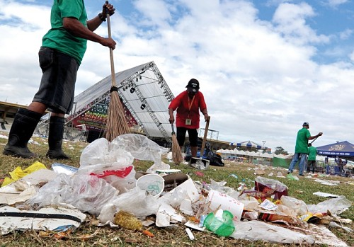 Trading Trash for Health Care in Indonesia