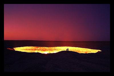 Turkmenistan_natural_gas_desert
