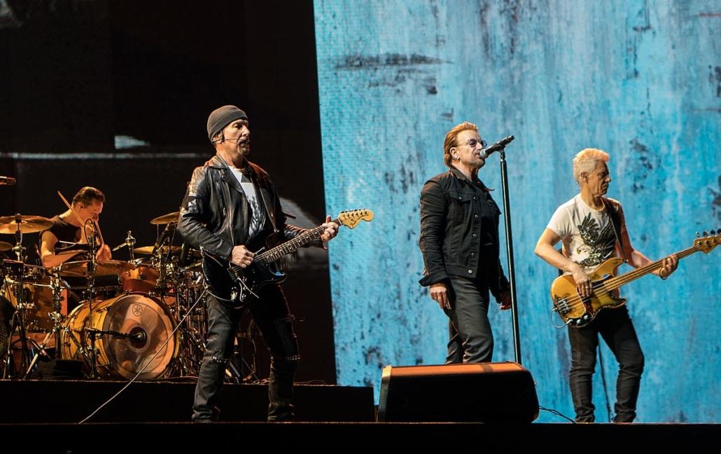 U2's Charity Work