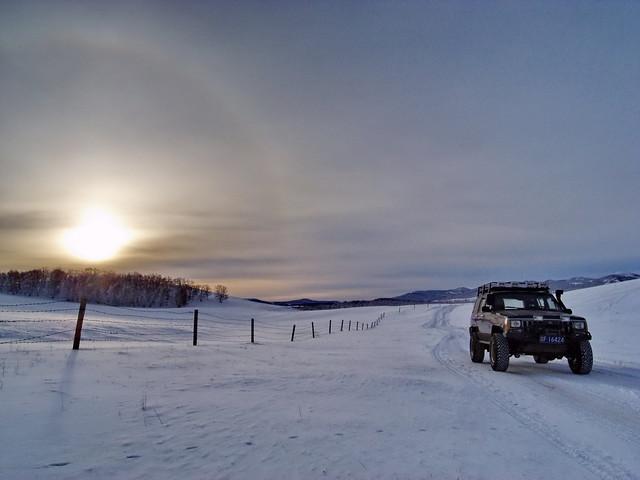 Winters in Mongolia