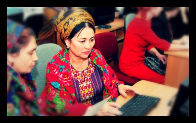 Women_Technology_Turkmenistan_Education