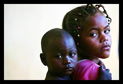 Angolan children in Uige Angola