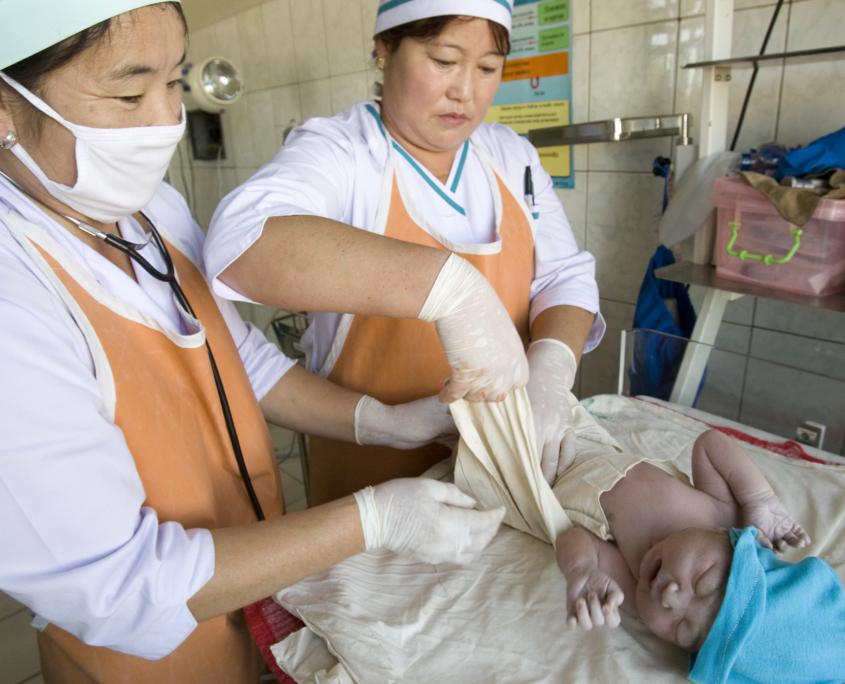 Mongolia's Childbirth Practices