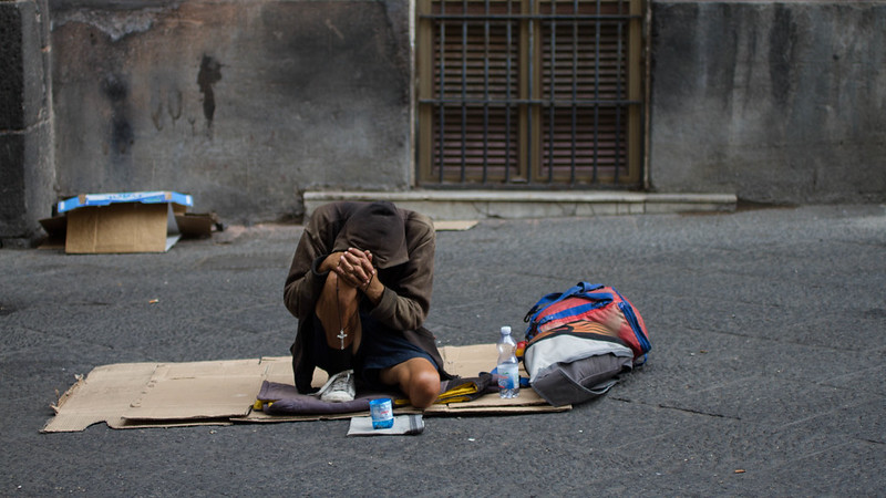 homelessness in italy