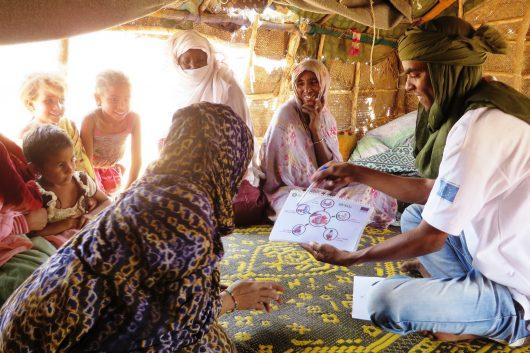 humanitarian aid to Mauritania