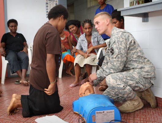 humanitarian aid to micronesia