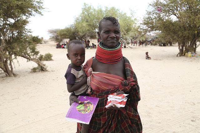 humanitarian aid to kenya