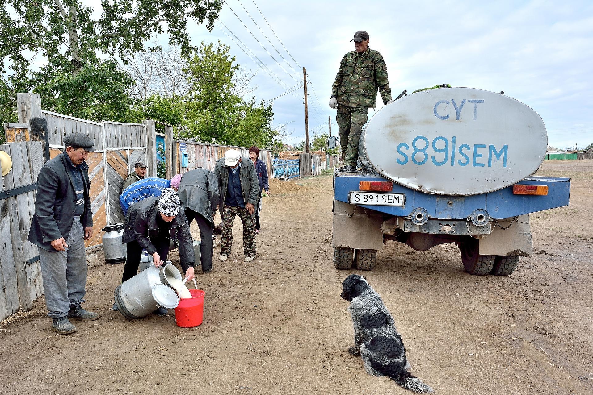 hunger in kazakhstan