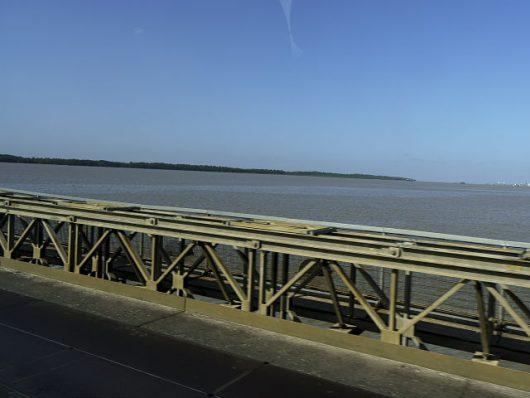infrastructure in guyana