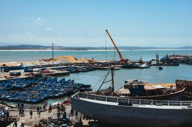 mega ports in Morocco