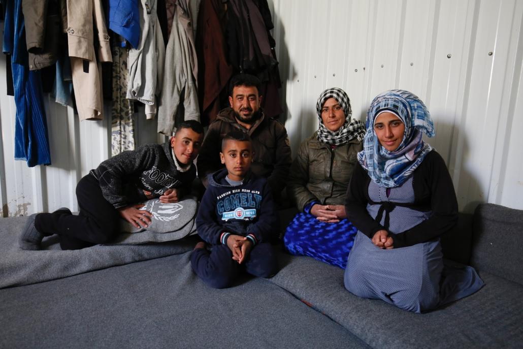refugee work in Jordan