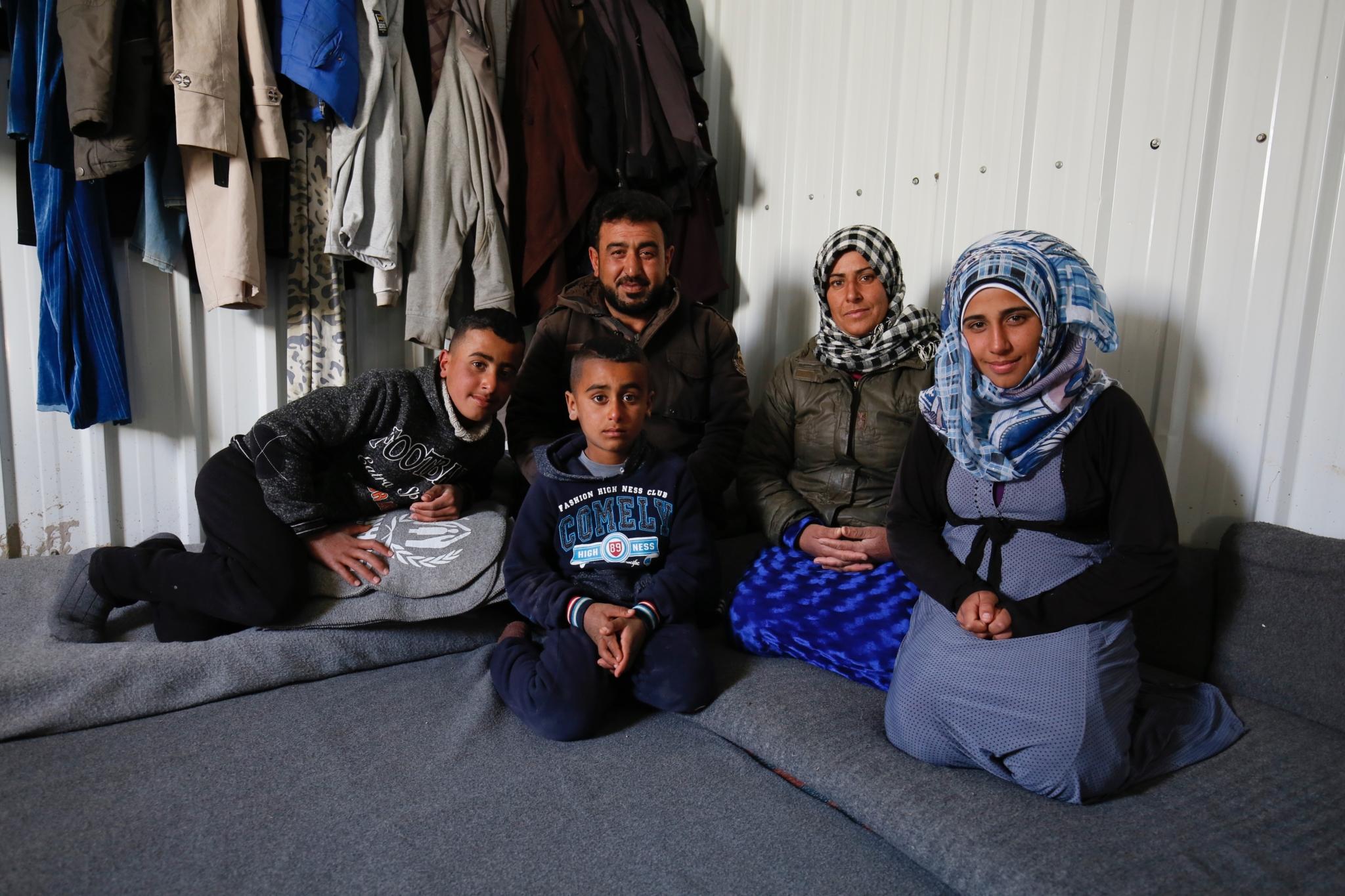 Helping Hand's Refugee Work in Jordan