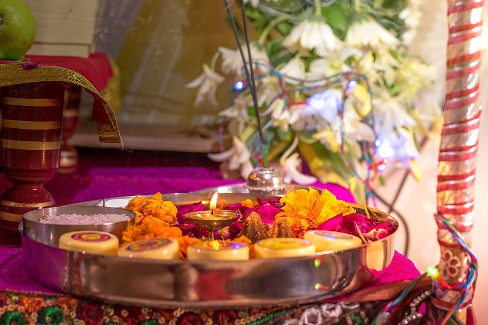 Religious Flowers in india