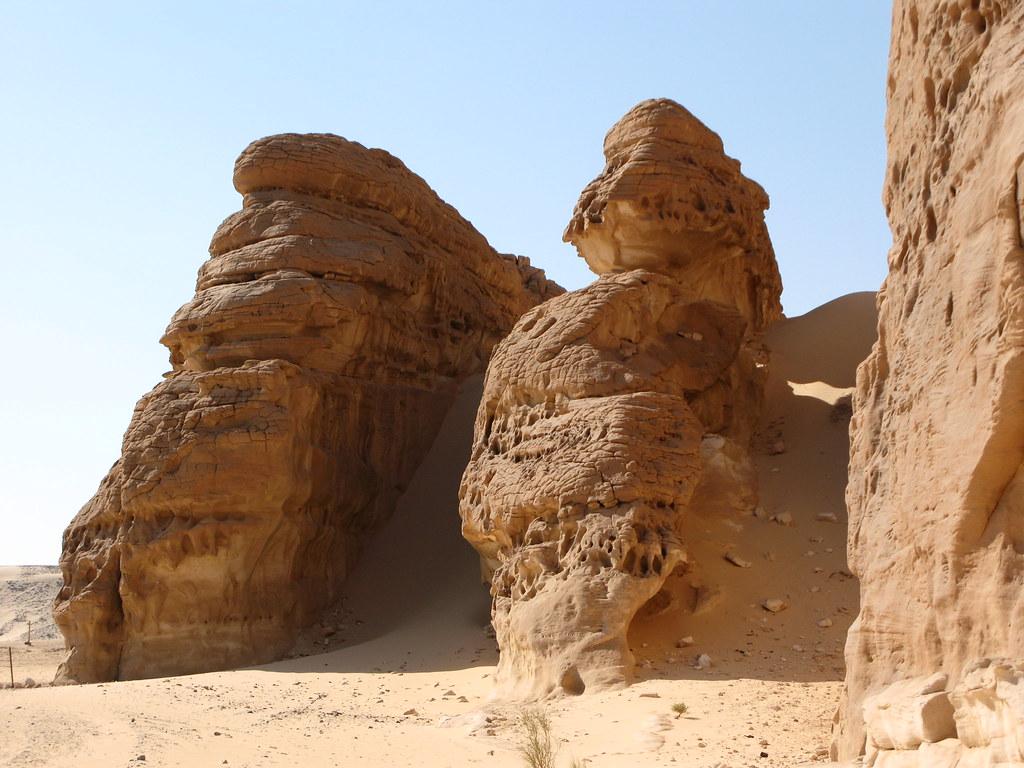 Where is desertification happening