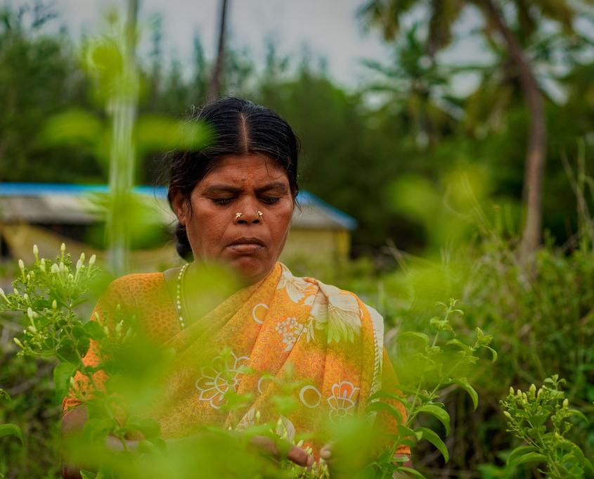 women farmers' movement in India
